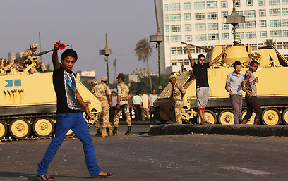 Cairo violence (Photo: Getty Imagebank)