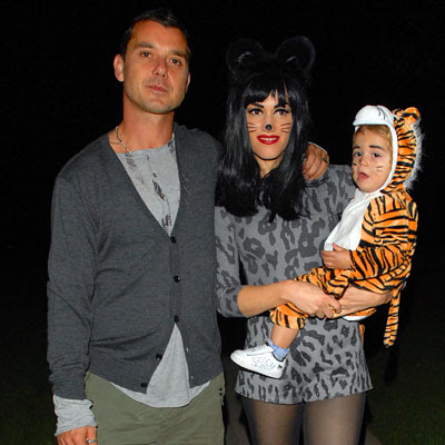 Gwen Stefani, Gavin Rossdale, Kingston - Our Favorite Stars in Halloween Costumes