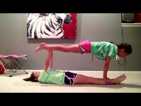 20 fantastic ideas easy beginner acro two people yoga