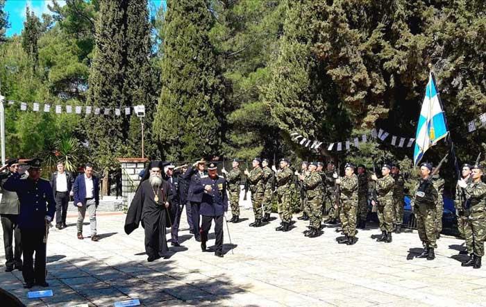 Άρτα: Τον Προστάτη του Άγιο Γεώργιο τίμησε το ΚΕΝ Άρτας