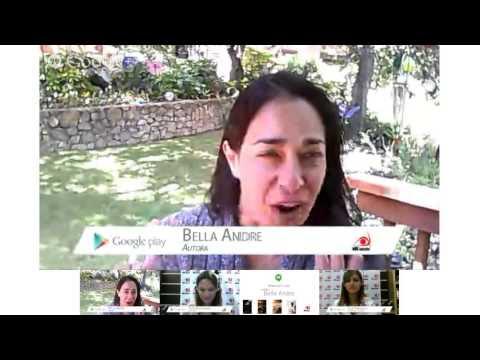 O hangout da Novo Conceito e Google Play com a Bella Andre