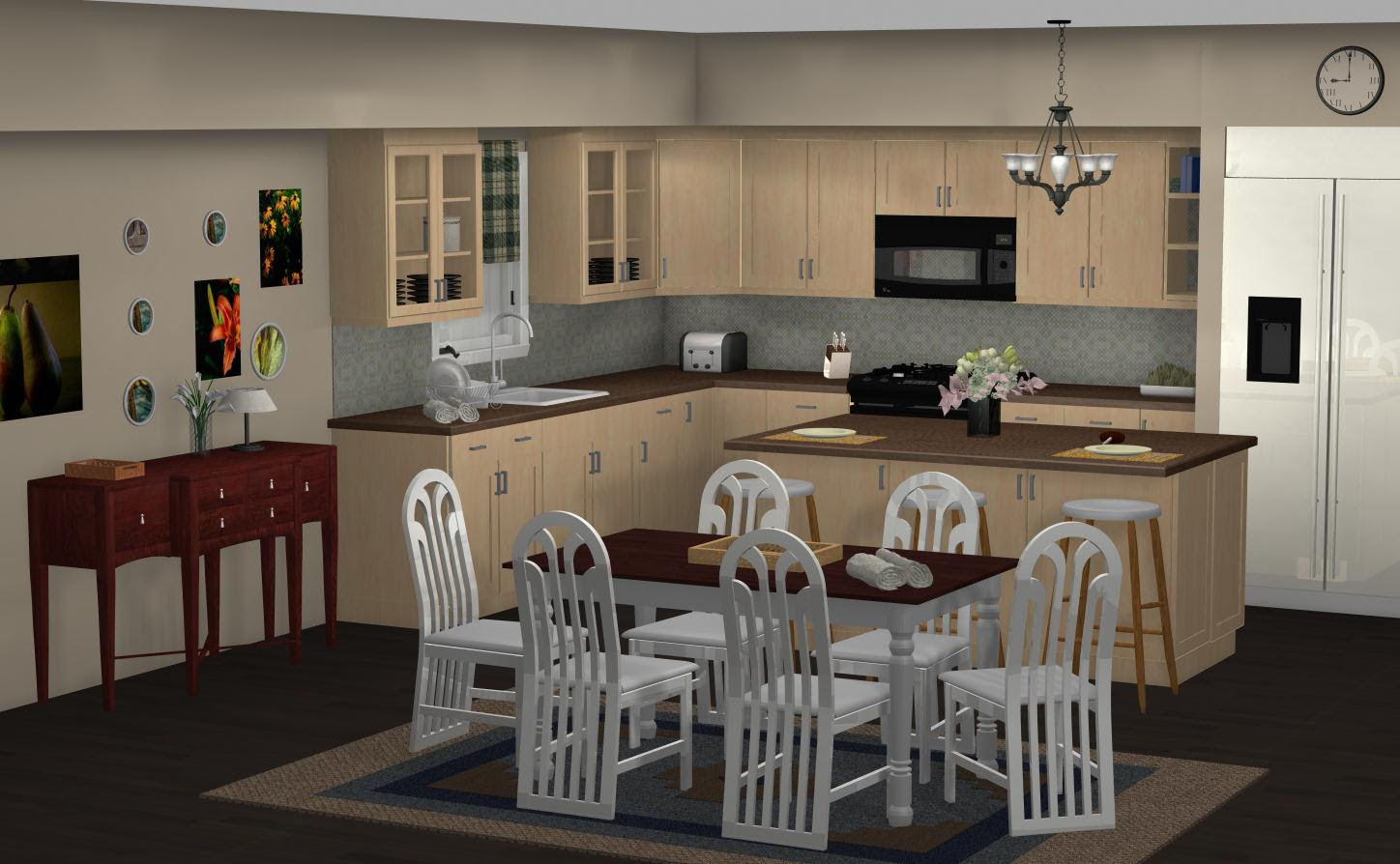 FAMOUS KITCHENS – Get the Look: Dunphy Household - Modern Family ...