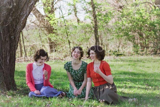 9846a3660ab84 Chronically Vintage: 12 rapid fire questions with, and a CD Giveaway from,  the wonderful Boyer Sisters