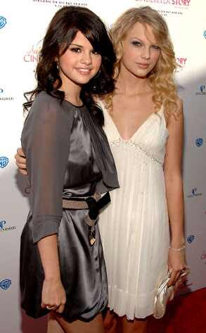 pictures of taylor swift and selena gomez. Selena Gomez, Taylor Swift John Shearer/Getty Images