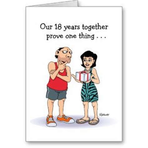 Funny 18th Wedding Anniversary Gifts   T Shirts, Art
