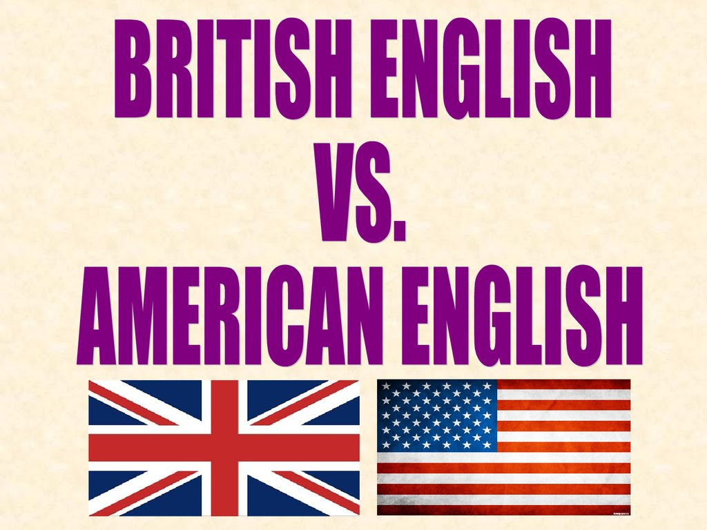 British english vs. american english - презентация онлайн