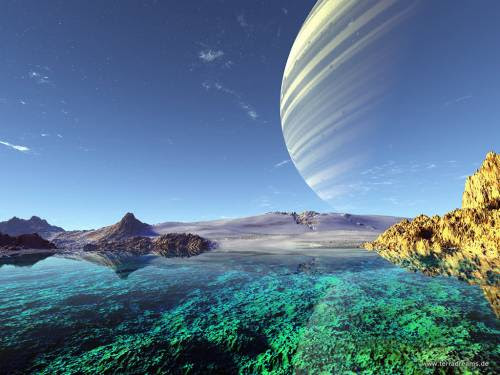 Free Fantasy Planet Wallpapers