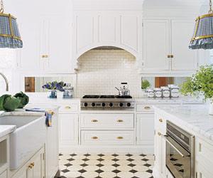 Vintage White Kitchen