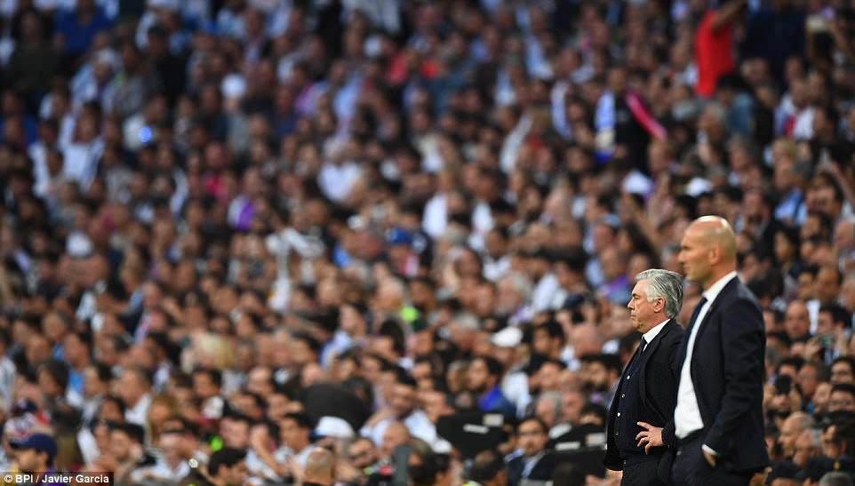 For Carlo Ancellotti it was a return to the Bernabeu, where he delivered the La Decima for the Spanish giants back in 2014