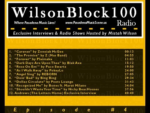 WilsonBlock100 Radio Show #4 ft. Zoneiak McGee + PokeyLo + Marat Milano ...