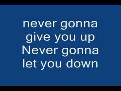 View Never Gonna Give You Up Download Mp4 Wallpapers