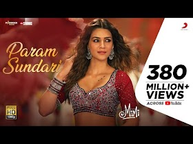 Param Sundari Lyrics - Mimi   A R Rahman, Shreya Ghoshal