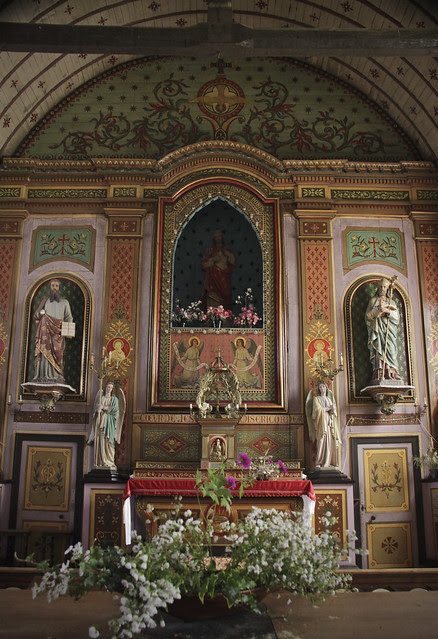 Saires-la-Verrerie - church