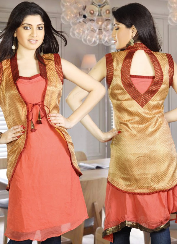 Womens-Girls-Summer-Kurti-Kurta-with-Tights-Jeans-Collection-2013-New-Fashionable-Dress-6