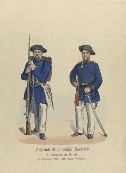 Archivo:Guerra do Paraguai - Voluntários da Pátria.JPG