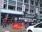 Servidores entram em greve no Acre (Aline Nascimento/G1)