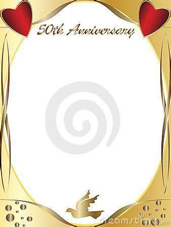 50th Wedding Anniversary Royalty Free Stock Photo   Image