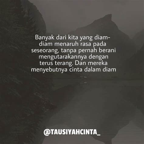 quotes cinta  diam islami love