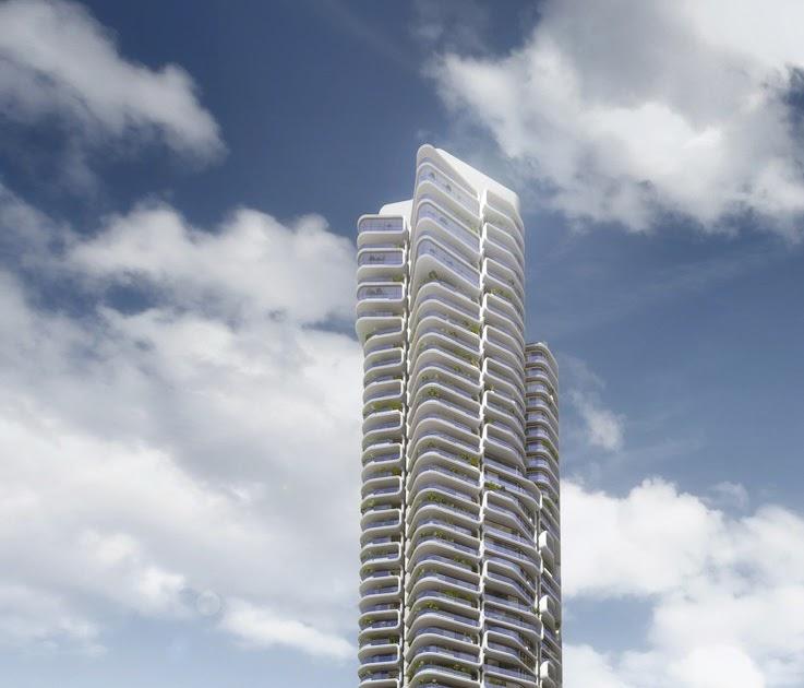 hochhauswelten frankfurt grand tower wohnturm 172m in bau. Black Bedroom Furniture Sets. Home Design Ideas