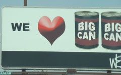 we heart big cans