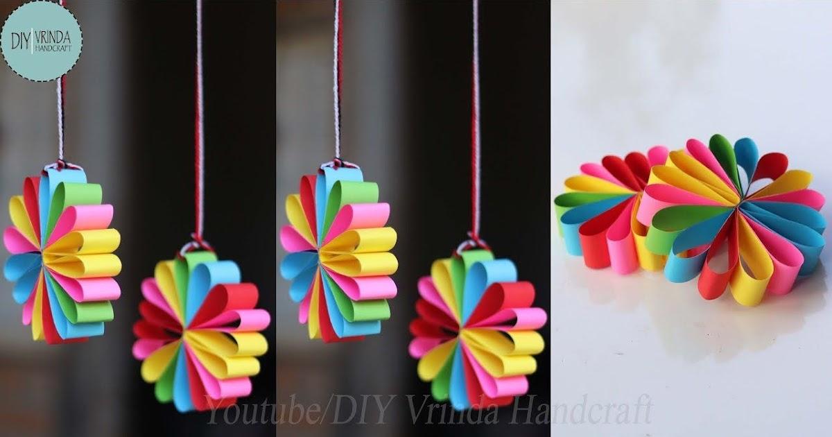 Paling Inspiratif Hiasan Jendela Kelas Dari Kertas Origami Schluman Art