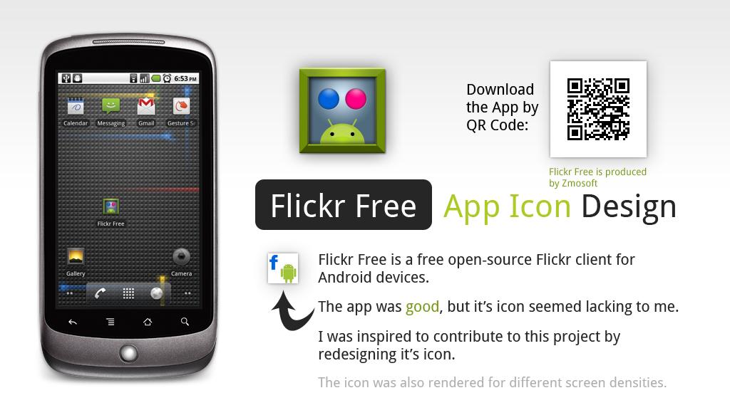 Flickr Free Icon