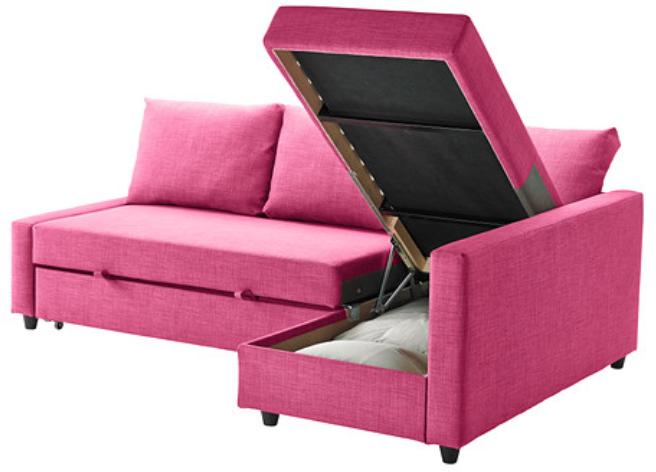 New Deal On Monroe Drive Twin Size Sleeper Sofa Pink ...