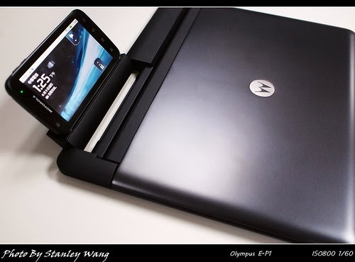 Motorola ATRIX and Laptop Dock