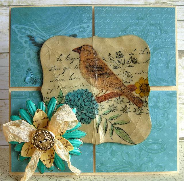 Cracked Bird Collage