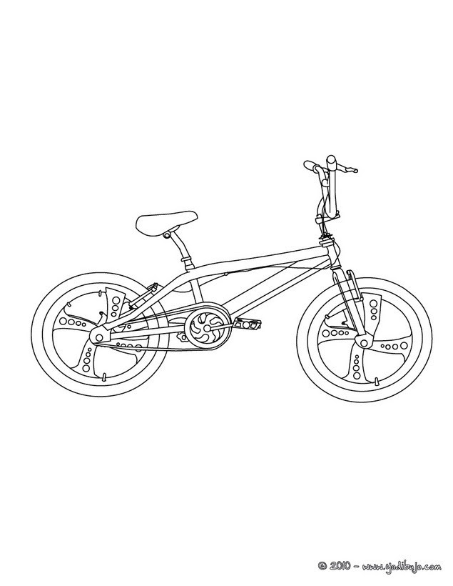 Dibujos Para Colorear Bicicleta De Carretera Eshellokidscom