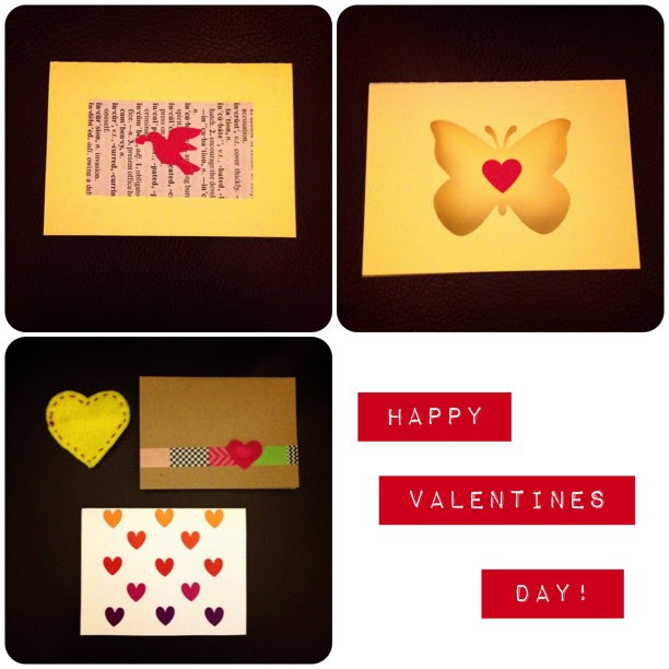 Cards I received #handmadeval I hope you all have a great day #valentine #cards