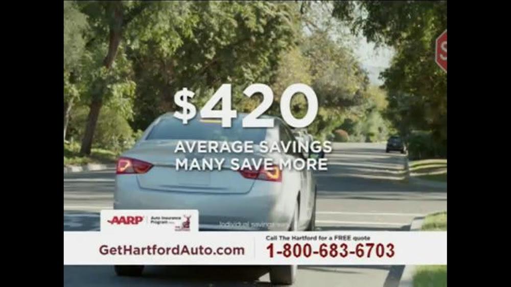 The Hartford AARP Auto Insurance Program TV Spot ...