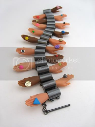 Barbie Hand Hinge Bracelet - Margaux Lange