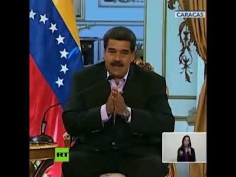 Maduro: La sangre que pueda correr en Venezuela estará en manos de Trump