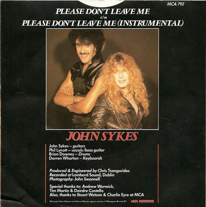 45cat John Sykes Please Dont Leave Me Please Dont Leave Me