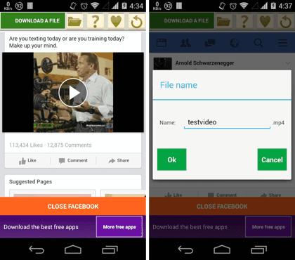 aplikasi video facebook downloader