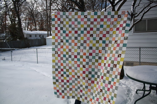 Quilt top finished!