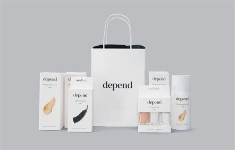 Depend Cosmetics Redesign (Student Project) on Packaging