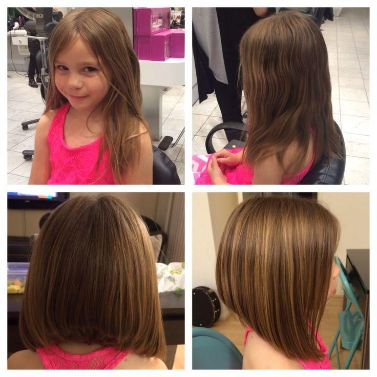 Coupe Cheveux Mi Long Petite Fille