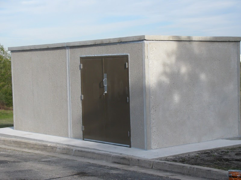 how to build a concrete block shed