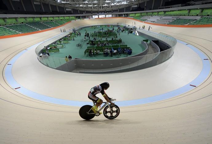 Inauguração oficial do velódromo olímpico  (Foto: Andre Durão)