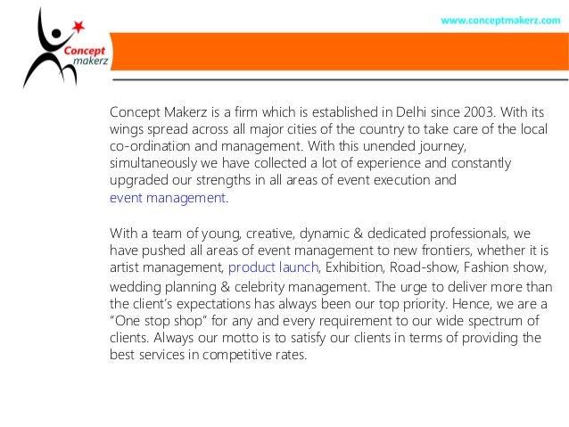 Contoh Company Profile Event Organizer Doc Terbaru 10