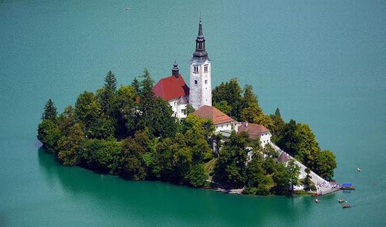 Bled Island-Νησάκι βγαλμένο από παραμύθι