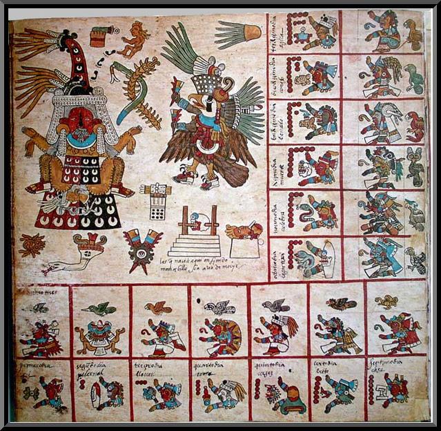الكتابة عند شعب المايا