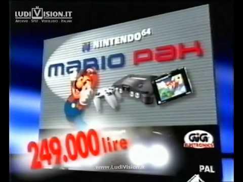 Nintendo 64 Mario Pak (1998)