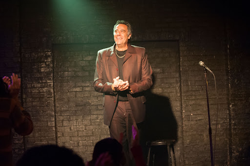 Avatar of On the set: Vegas comic Brad Garrett joins the cast of Showtime's 'I'm Dying Up Here'