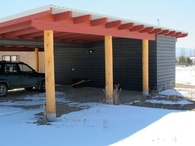 Antonia Fahrney Residence - contemporary - garage and shed ...