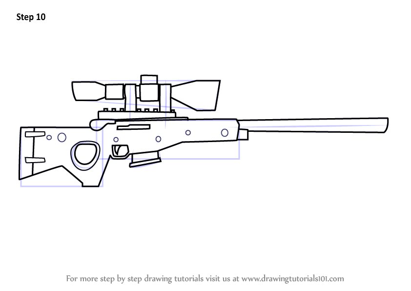 Fortnite Weapons Coloring Pages Fortnite 4 4 Hack