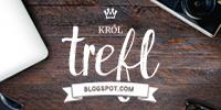 Button prostokątny Król Trefl