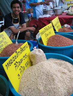 Special varieties of rice